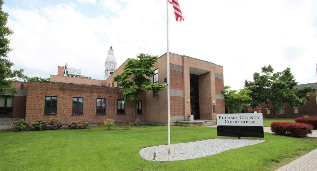 Pulaski County, Virginia Courthouse