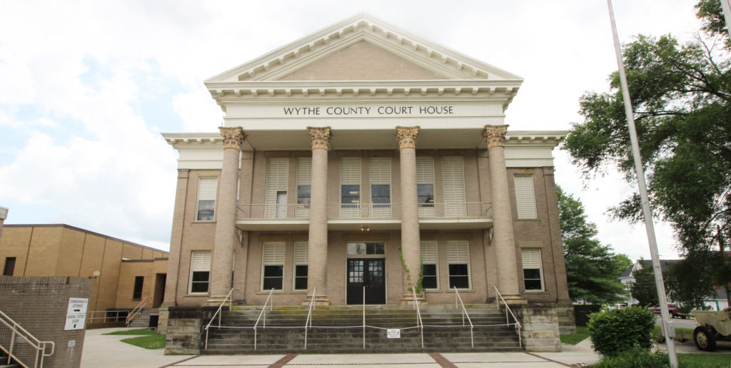 Wythe County Wytheville, Virginia Courthouse